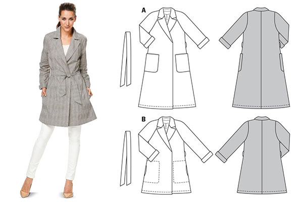Sew Pretty - Make your own coat sewing course