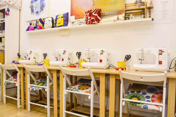Inside the Sew Pretty studio